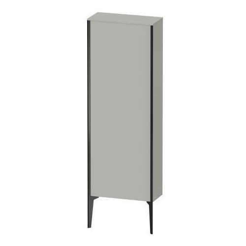 Duravit - Semi-tall Cabinet Floorstanding, Concrete Gray Matte (decor)