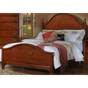 Panel Bed Queen & King