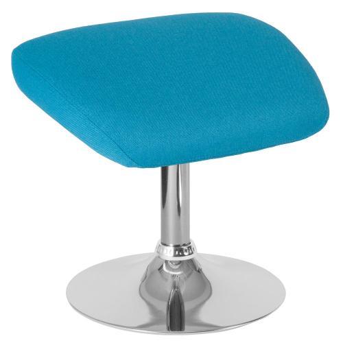 Alamont Furniture - Aqua Fabric Ottoman