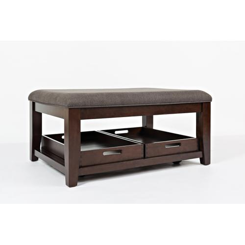 Twin Cities Ottoman Cocktail Table