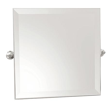 "Polished Chrome 20"" x 20"" Small Frameless Mirror"