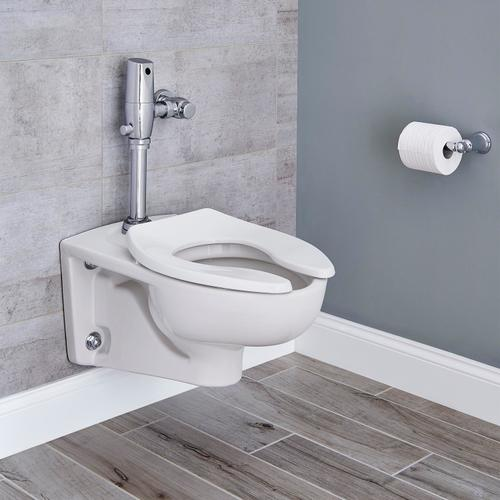 American Standard - Afwall 1.1 GPF with Selectronic Flush Valve - White