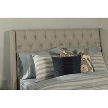 View Product - Churchill King/cal King Headboard - Dove Gray Fabric