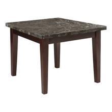 See Details - Counter Height Table, Marble Top
