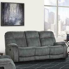 See Details - COOPER - SHADOW GREY Manual Triple Reclining Sofa