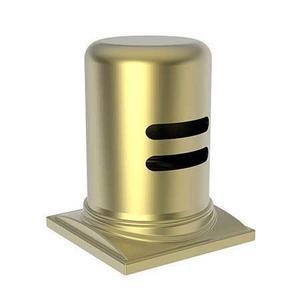 Satin Brass - PVD Air Gap Cap & Escutcheon Only