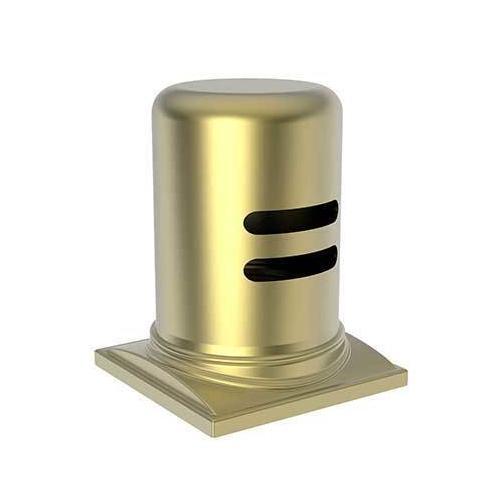 Newport Brass - Satin Brass - PVD Air Gap Cap & Escutcheon Only