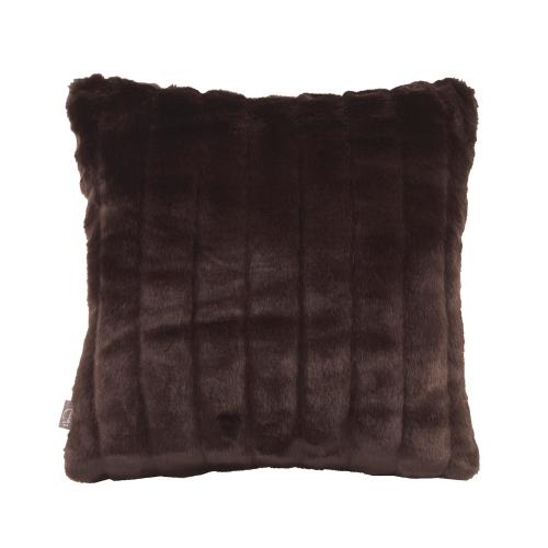 """Pillow Cover 16""""x16"""" Mink Brown"""