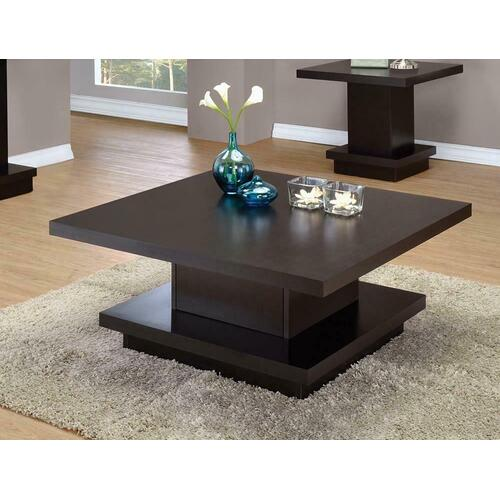Product Image - Cappuccino Wood Top Coffee Table