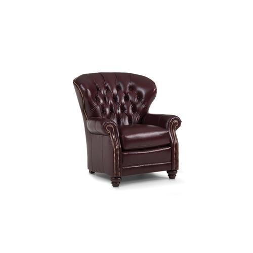 Smith Brothers Furniture - Leather Stationary Chair
