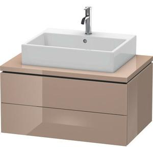 Vanity Unit For Console, Cappuccino High Gloss (lacquer)
