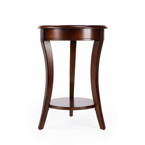 Made of select solid woods and choice veneers. Cherry, maple and walnut veneer inlay on top.
