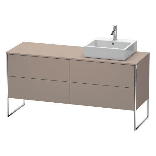 Vanity Unit For Console Floorstanding, Basalt Matte (decor)