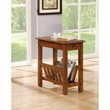 ACME Jayme Side Table - 80517 - Tobacco