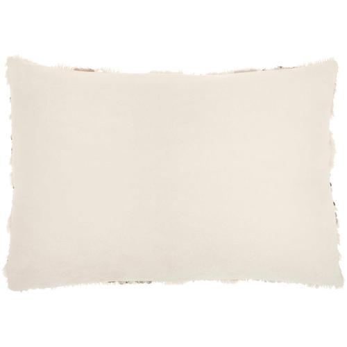 "Sofia Vv212 Beige 14"" X 20"" Throw Pillow"