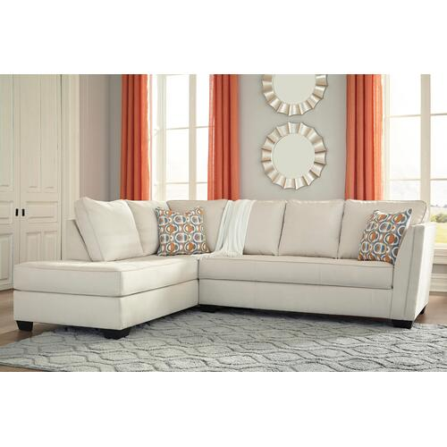 Filone Ivory Sectional Left