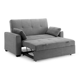 Nantucket Twin Size Sofa Sleeper in Light Grey