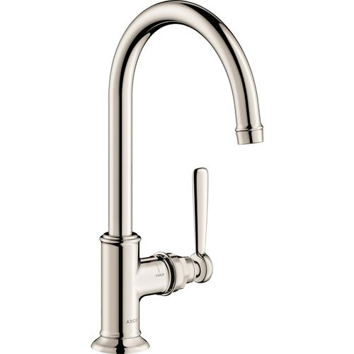 Polished Nickel Single-Hole Faucet 210, 1.2 GPM