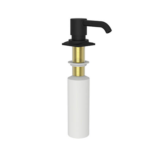Newport Brass - Flat Black Soap/Lotion Dispenser