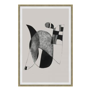 See Details - Happiness 2 Abstract Ink Print Wall Décor