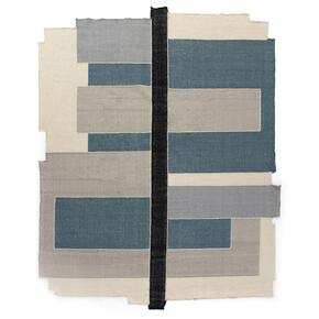 5'x8' Size Olexa Block Border-blue