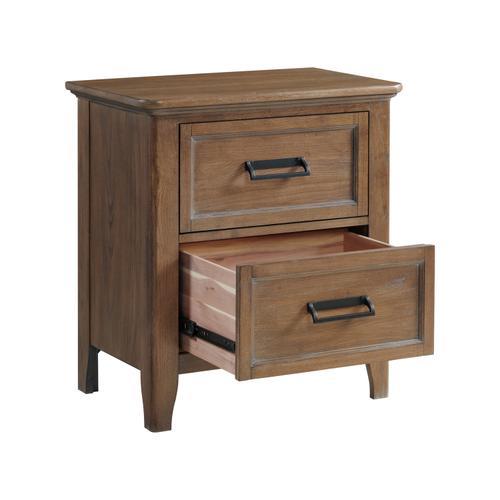 Intercon Furniture - Alta Nightstand  Harvest