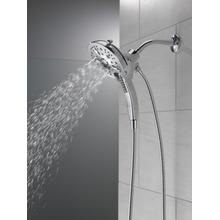 Chrome In2ition ® H 2 Okinetic ® 5-Setting Two-in-One Shower