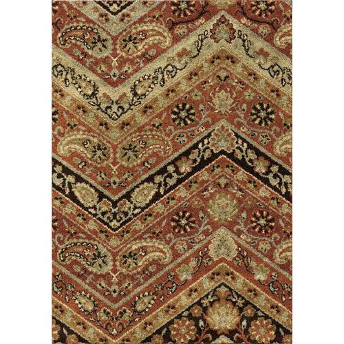 "4318 8x11 Paisley Point Rouge 7'10"" x 10'10"" American Heritage"