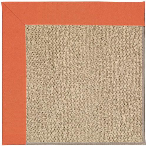 Creative Concepts-Cane Wicker Canvas Melon Machine Tufted Rugs