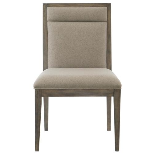 Profile Side Chair in Warm Taupe (378)