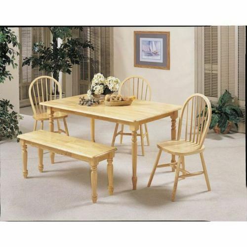 Acme Furniture Inc - ACME Farmhouse Dining Table - 02247N - Natural