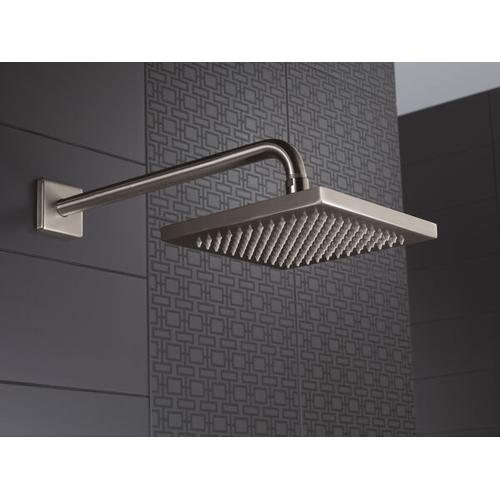 Stainless Metal Raincan Shower Head Assembly