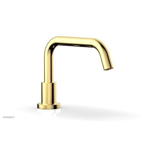 BASIC Deck Tub Spout D5132 - Polished Gold