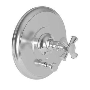 Midnight Chrome Balanced Pressure Tub & Shower Diverter Plate with Handle. Less Showerhead, arm and flange.