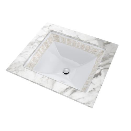 Toto - Waza® Tiraz Undercounter Lavatory - Cotton