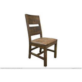 See Details - Chair w/ Bonded Leather Seat