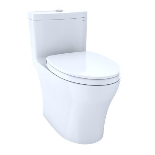 Aquia® IV One-Piece Toilet - 1.28 GPF & 0.8 GPF, Elongated Bowl - WASHLET+ Connection - Cotton