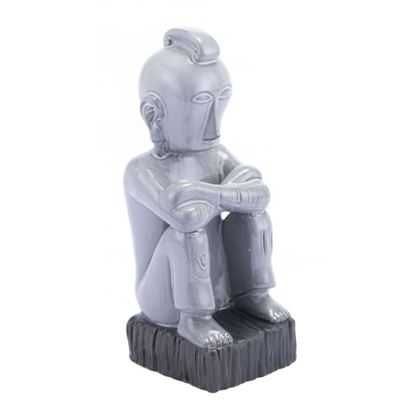 See Details - Totem Figurine Gray