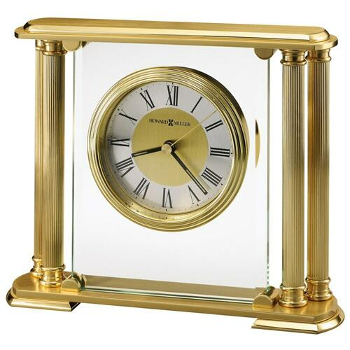 Howard Miller Athens Brass Table Clock 613627