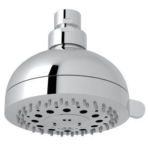 "Polished Chrome 4"" Rovato 3-Function Showerhead Product Image"