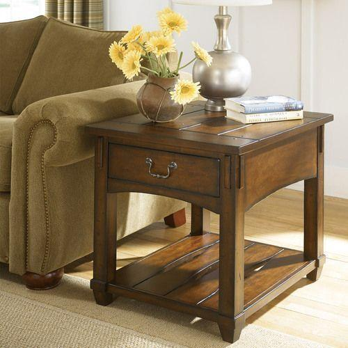 Gallery - Tacoma Rectangular Drawer End Table