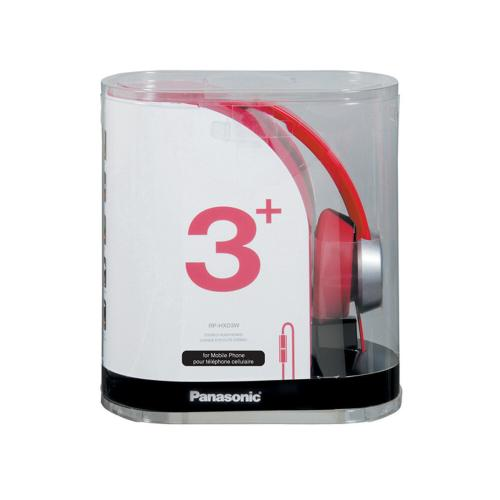 Street Style Monitor Headphones - Red - RP-HXD3W-R