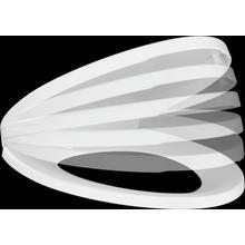 White Elongated Slow-Close Seat