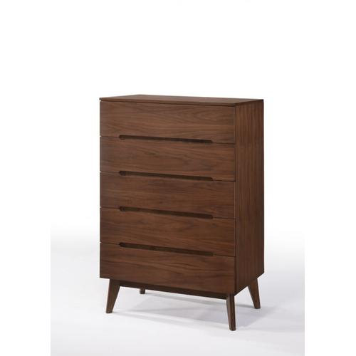 VIG Furniture - Modrest Lewis Mid-Century Modern Walnut Chest
