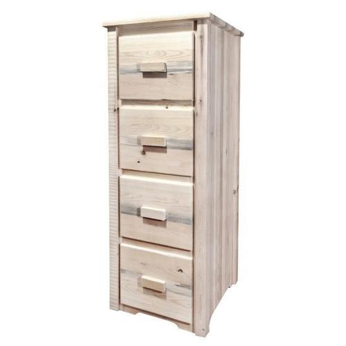 Montana Woodworks - Homestead Collection 4 Drawer File Cabinet