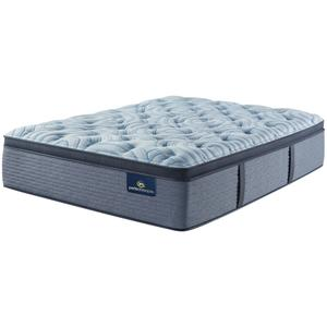 SertaPerfect Sleeper - Luminous Sleep - Medium - Pillow Top - Cal King