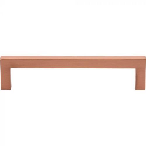 Vesta Fine Hardware - Simplicity Bar Pull 5 1/16 Inch (c-c) Satin Copper Satin Copper