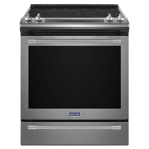 30-Inch Wide Slide-In Electric Range With True Convection And Fit System - 6.4 Cu. Ft. -