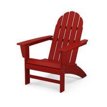 Vineyard Adirondack Chair in Crimson Red
