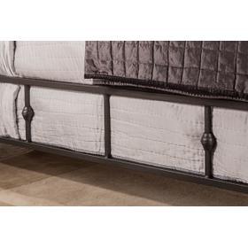 Westgate Side Rail - Queen - Rustic Black
